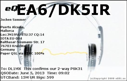 EA6-DK5IR_20130605_0902_15M_PSK31